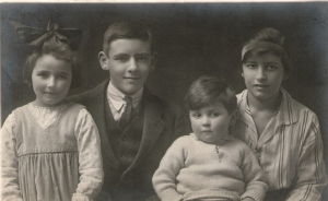 Molly, Jack, Hugh and Mabel (Mick)