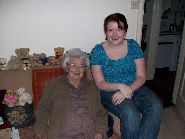 With me, aged 96.