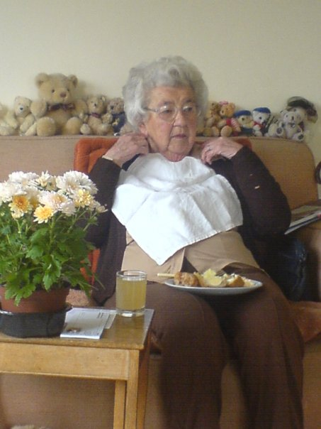 At spot of lunch aged 94