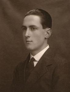 Dr Ian P. W. Skinner, around 1918