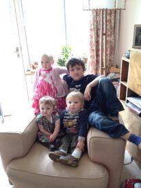 Skinner/Minish Children 2012:Imogen, Ivy, Oscar and Rufus.