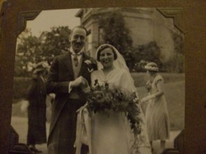Wedding on the Isle of Wight 1934