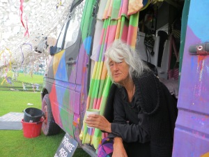 Jan and her Van