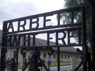 Dachau Gate prisoner entrance