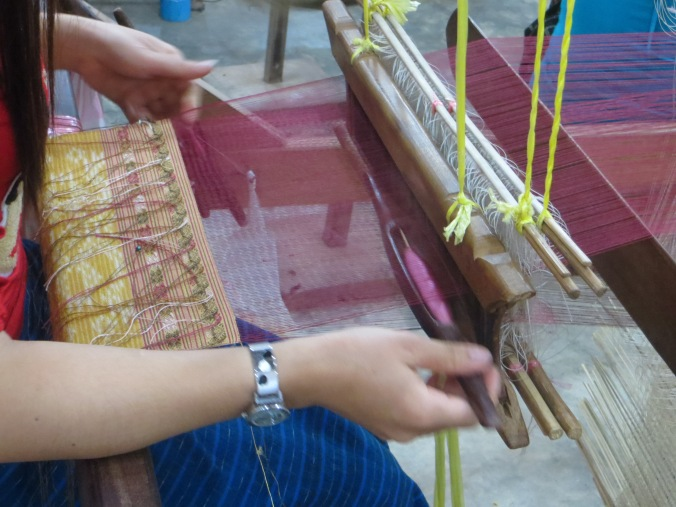 Weaving the weft
