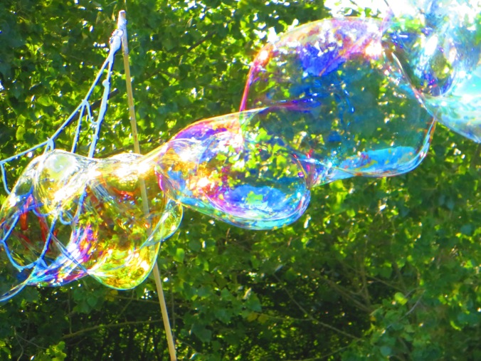 Bubbles in the sun