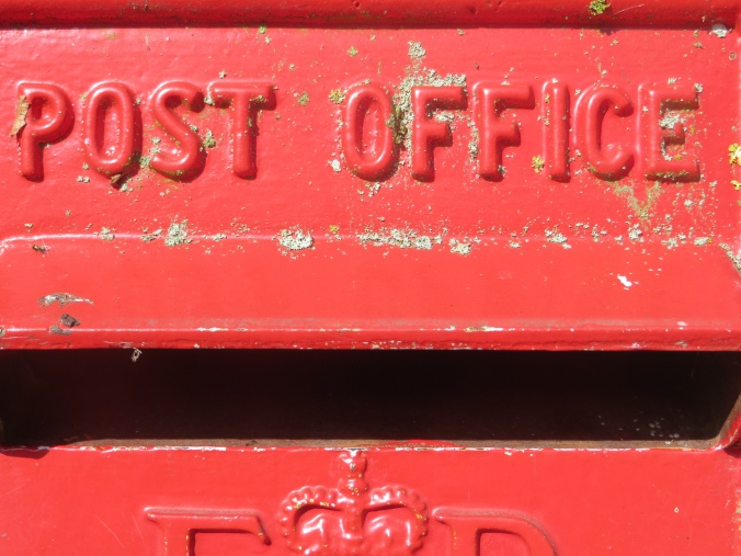 Post box, Turweston, Buckinghamshire