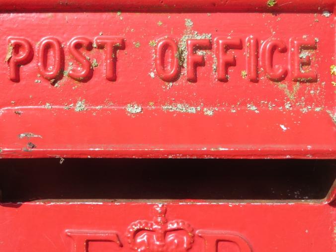 Post box, Turweston, Buckinghamshire