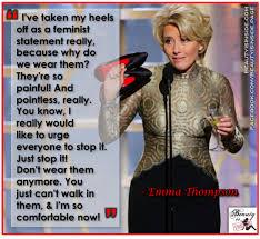 emma thompson shoes