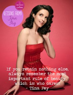 tina fey fashion beauty